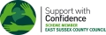 Accreditation: Support With Confidence logo for Susan Marchant - Personal Assistant